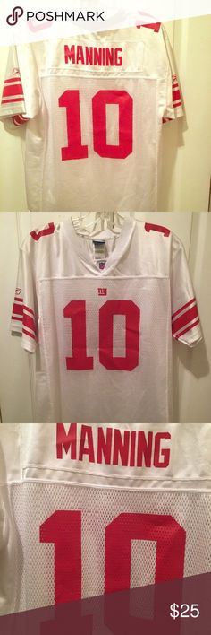 Eli Manning NFL Jersey Eli Manning Jersey Giants NFL Great pre owned  condition size XL 20 3f4aac78a