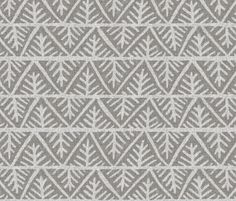 Textured Mudcloth in Gray fabric by sparrowsong on Spoonflower - custom fabric