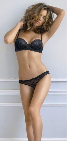 Irina Shayk moda ropa interior