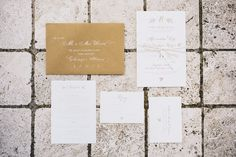 Alexandra & Peter's Wedding Invitations by Orange Paper Shoppe | Letterpress by Richie Designs | Photo by Hugh Forte Photography