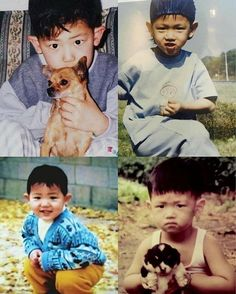 ChanBaek Similar childhood photos ❤️ | cr. owner Omgggg they look like each other! ㅠㅠㅠㅠ especially their ears! - Admin Tin #EXO #CHANYEOL #BAEKHYUN #MONSTER #LUCKYONE