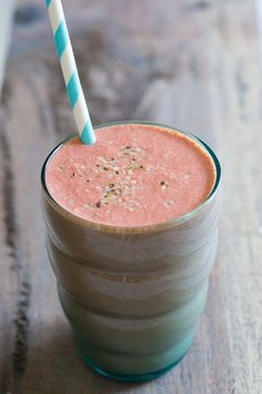 5 ways to eat more vegetables for breakfast including this Purple Power Smoothie.