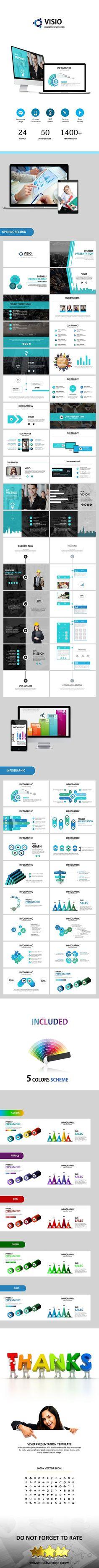 VISIO - Powerpoint Business Presentation (PowerPoint Templates)