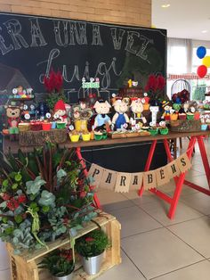 Festa de aniversário 1 ano festa 1 ano ideias Era uma vez... Tres porquinhos #eraumavez #tresporquinhos #pinoquio
