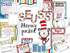 seuss updated literacy pack!  I am using this for my first grade reading group for my last task in my class.  Great ideas.  all done for me.