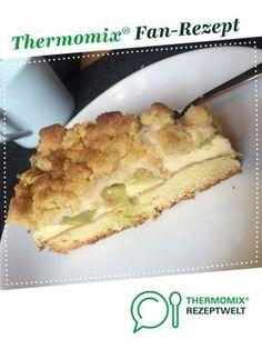 Rhabarberkuchen mit Vanillecreme und Streusel von verena91. Ein Thermomix ® Rezept aus der Kategorie Backen süß auf www.rezeptwelt.de, der Thermomix ® Community.
