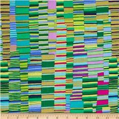 Kaffe Fassett Collective Shirt Stripes Green