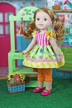 American Girl Doll Julie coloring
