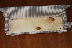 Upholstered Sofa     Part 3: Upholstery - Fabric         Today we will finish the upholstery of the sofa by adding the fabric cover...