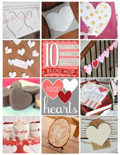 Heart Carved Tree Stump and other fun Valentine's Day Heart Themed projects KristenDuke.com
