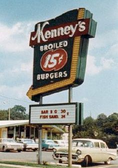 Kenney's Chicken and Burgers in Salem VA, ca. 1960.