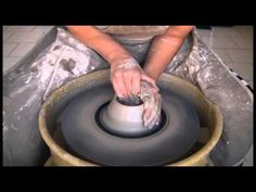 "After you have learned how to center the clay on the potter's wheel, the next skill is to learn how to ""Open"" and ""Lift the clay. Opening allows you to creat..."