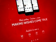 [Free] Superxmas - Xmas Splash Page designed by Aleksandar Macanovic. Html Templates, Page Template, Landing Page Html, Splash Page, Wish Come True, Free Space, Web Design Inspiration, Page Design, The Help