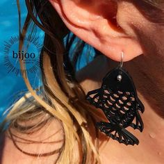 2 🐠 Fische plantschen in der Karibik 🌴! / 2 fishes 🐠are enjoying the caribbean 🌴! Fancy Earrings, Drop Earrings, Good Friday, Caribbean, Ears, Mexico, Jewelry, Fashion, Playa Del Carmen