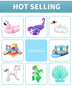 Customized Hot Sale Heavy Duty Vinyl Large Inflatable Bouncy Castle Unicorn Toy Castle Unicorn, Bouncy Castle, Sprinkler, Party Supplies, Kids Rugs, Toys, Fun, Activity Toys, Party Items