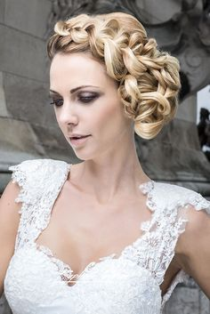 18 Elegant Wedding Hairstyles From All Over The World ❤ See more: http://www.weddingforward.com/elegant-wedding-hairstyles/ #weddings #hairstyle