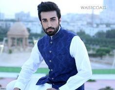 traditional pakistani waistcoat designs for men - Google Search