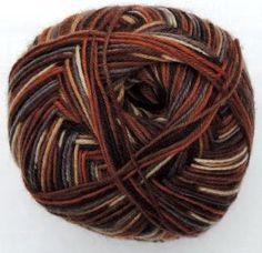 Hot Socks Stripes 4-fach superwash - Noble lord stripes 1661-602, 75% Merino superwash by ColorfullmadeShop on Etsy