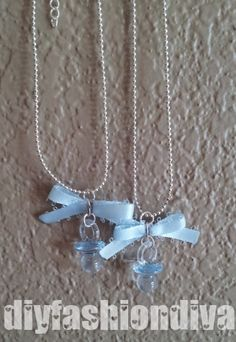 DIY Pacifier Necklace Http://www.diyfashiondiva.com/accessories/baby