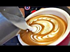 latte art- this is why i love my job - YouTube