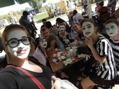 Mime Makeup, Halloween Face Makeup, Goth, Life, Gothic, Goth Subculture