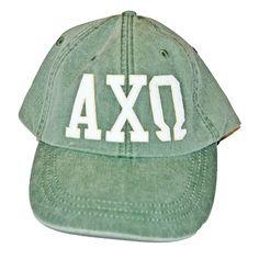 f4fce0b6f56f9 Alpha Chi Omega - Appliqué Hat  30.00 Sorority Bid Day