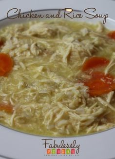 Quick and easy comforting Chicken Noodle soup. I made this soup with ingredients that I had on hand in my pantry. You can dress it up more with more vegetables to make it more hearty, healthy and filling.
