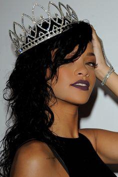 Rihanna, personalmente, es mi cantante favorita, una chica de barbados que arrasa.