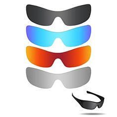 fadac4d7e13 Fiskr Anti-saltwater Replacement Lenses for Oakley Antix Sunglasses 4 Pairs Pack  Review