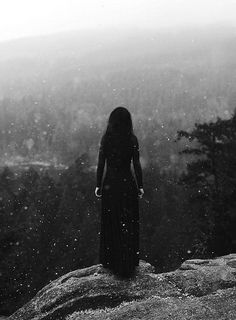 A world void of echoes. Her heart cries out into the silent shadows......darkness creeping apon her frigid soul. She waits.......forever. ~ Micheal Easley