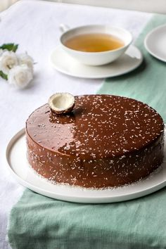 The recipe for Caribbean Yann Couvreur's entrees - Anna Coombs Hmr Frosting Recipes, Cake Recipes, Dessert Recipes, Buttercream Frosting, Fancy Desserts, Just Desserts, Chefs, Chocolate Cake Designs, Mousse Dessert