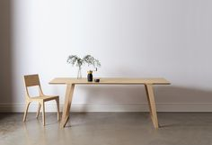 Solid hardwood table.With its unpretentious styling and honest forms, theIsometric Collectioncalls upon the underlying principals ofShaker, Mission and early American furniture design.
