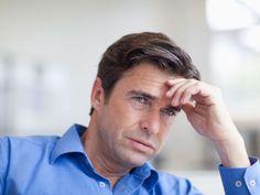 Concerned mature man