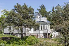 vanha talo, hirsitalo, merenrantahuvila