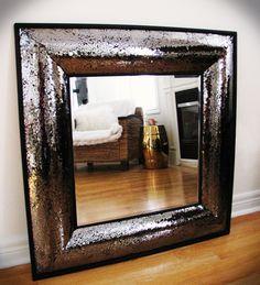 My Liquid Glitter Mirror