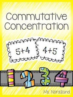 """Freebie - game to practice turn around addition facts up to """"Flip Flop Facts"""" Help students' understanding of the commutative property of addition. Teaching First Grade, Teaching Math, Teaching Tips, Math Addition, Addition Facts, Math Properties, Daily 5 Math, Math Fact Fluency, Go Math"""