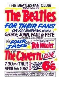 (Code 057) The Cavern Club Thur 5th April 1962