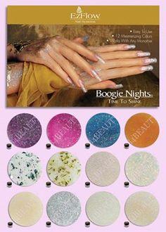 Er din negle klar til sommeren? Det kan du blive med dette Shine Kit fra Ezflow. Der er mange flotte farver, alle med skinnende udtryk. Det er fundet hos B4beauty.dk. #Akrylnegle
