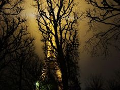 Eiffel Tower Illumination Paris by night By Andreas