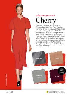 cherry + pewter/camel/heather gray/plum