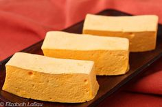 This Mango Marshmallows recipe produces tender, light marshmallows bursting with vibrant mango flavor. Try them plain or dipped in chocolate! Recipes With Marshmallows, Homemade Marshmallows, Marshmallow Recipes, Gourmet Marshmallow, Candy Recipes, Dessert Recipes, Desserts, Fudge Recipes, Strawberry Puree