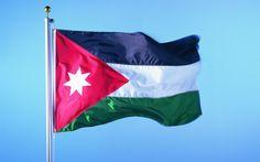 Flag of Jordan wallpaper