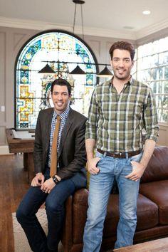Drew & Jonathan Scott of The Property Brothers