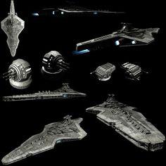 Mandalorian battleship