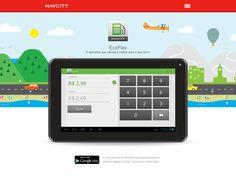 EcoFlex App Landing Page by Renato Viana