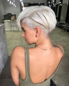 60 stylish Edgy Pixie cuts and hairstyles ideas new site Edgy Hair Cuts Edgy Hairstyles Ideas pixie site Stylish Short Hair Undercut, Short Pixie Haircuts, Short Bob Hairstyles, Short Hair Cuts, Undercut Bob Haircut, Pixie Cut With Undercut, Asymmetrical Pixie Haircut, Edgy Short Hair, Edgy Pixie Cuts