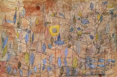 """Paul Klee sagt: """"Die Natur kann sich Verschwendungen in allem erlauben, der Künstler muß bis ins letzte sparsam sein. Die Natur ist beredt bis zum Veworrenen, der Künstler sei ordentlich verschwiegen. Wenn bei meinen Sachen manchmal ein primitiver Eindruck entsteht, so erklärt sich diese Primitivität aus meiner Disziplin, auf wenige Stufen zu reduzieren. Sie ist nur Sparsamkeit, also letzte professionelle Erkenntnis, also das Gegenteil von wirklicher Primitivität."""""""