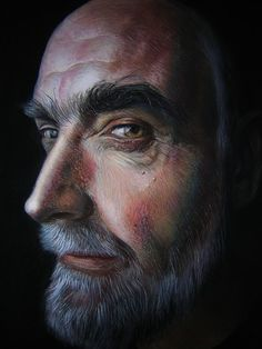 Brilliant Photorealistic Pastel Portraits by Rubén Belloso Adorna