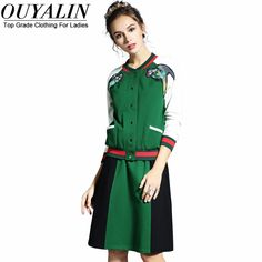 L- 5XL Baseball Style Coat and Skirt 2 Piece Set Fall Winter Suits High Quality Oh just take a look at this! http://www.artifashion.net/product/l-5xl-baseball-style-coat-and-skirt-2-piece-set-fall-winter-suits-high-quality/ #shop #beauty #Woman's fashion #Products