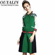 <b>New</b> 2017 Spring <b>Cotton</b> Casual ethnic printed suit women ...